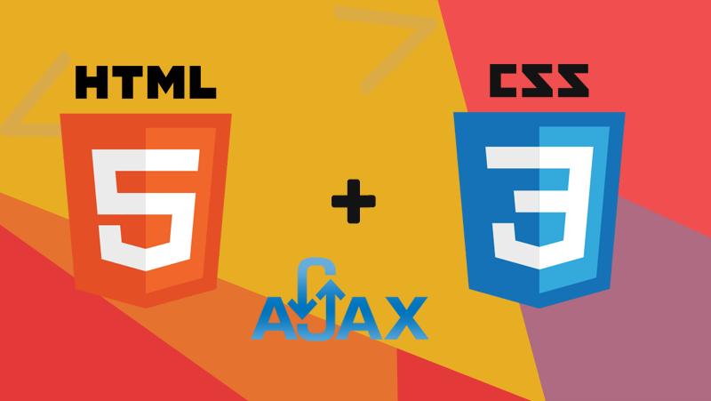 HTML5 CSS3 & Ajax Development